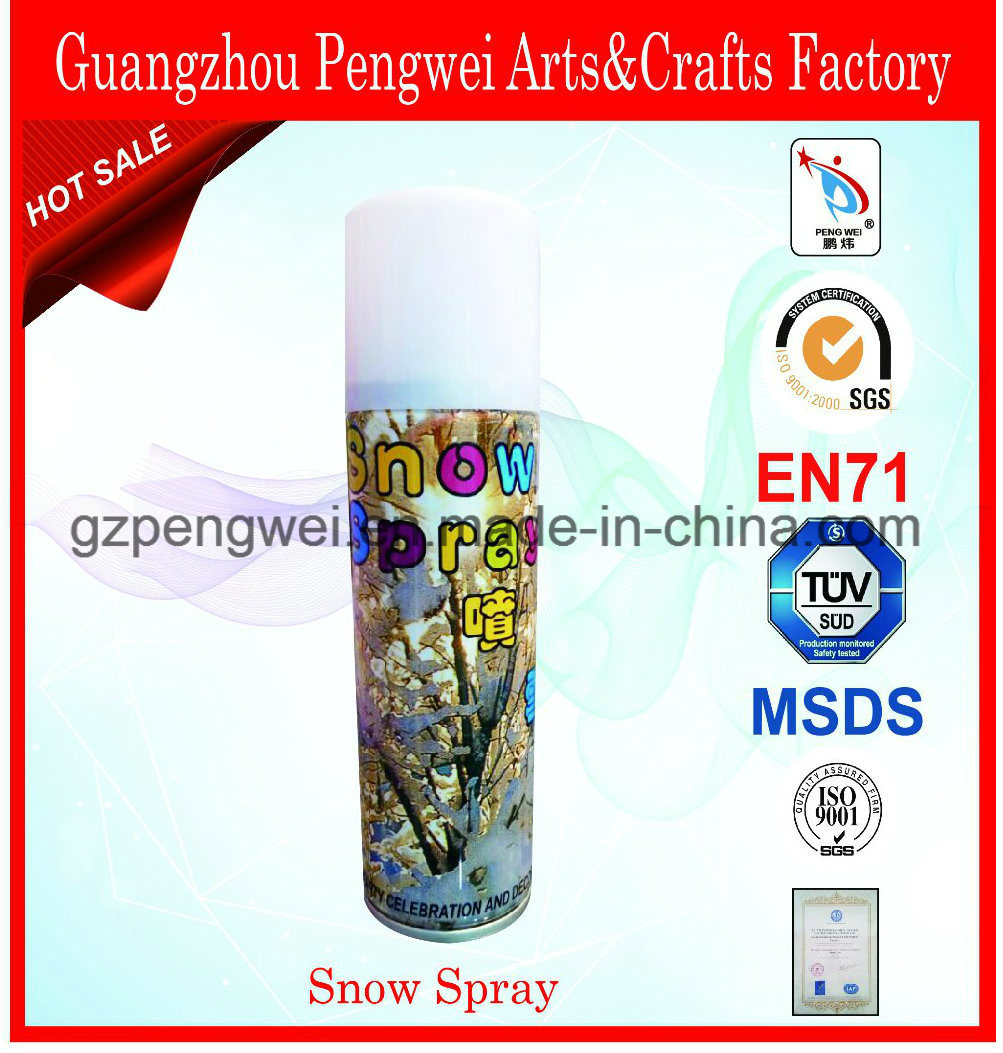 Magic Aerosol Snow Spray for Festival Decoration