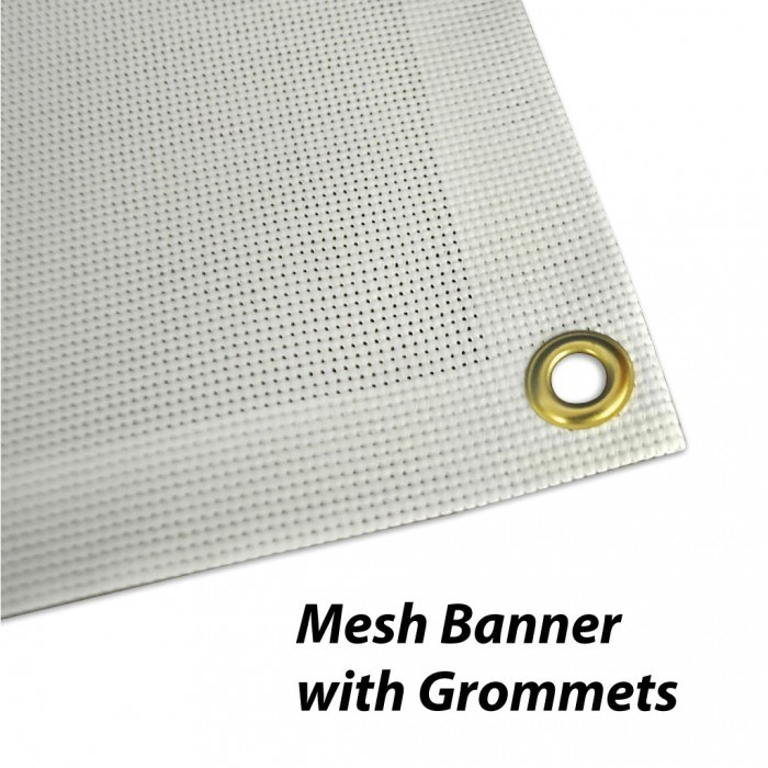 Custom Outdoor Advertising Signage Mesh Banners