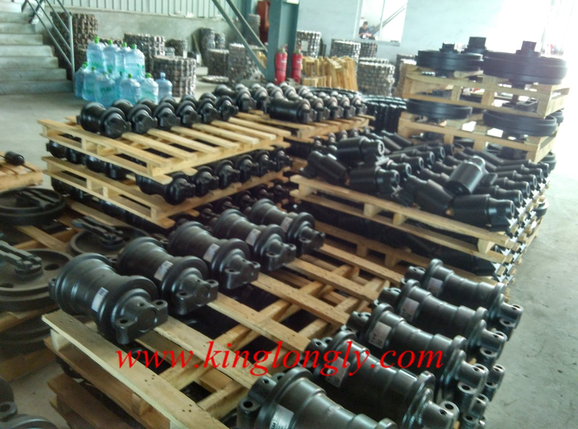 Hitachi Zax 330 Track Roller Bottom Roller for Construction Machinery