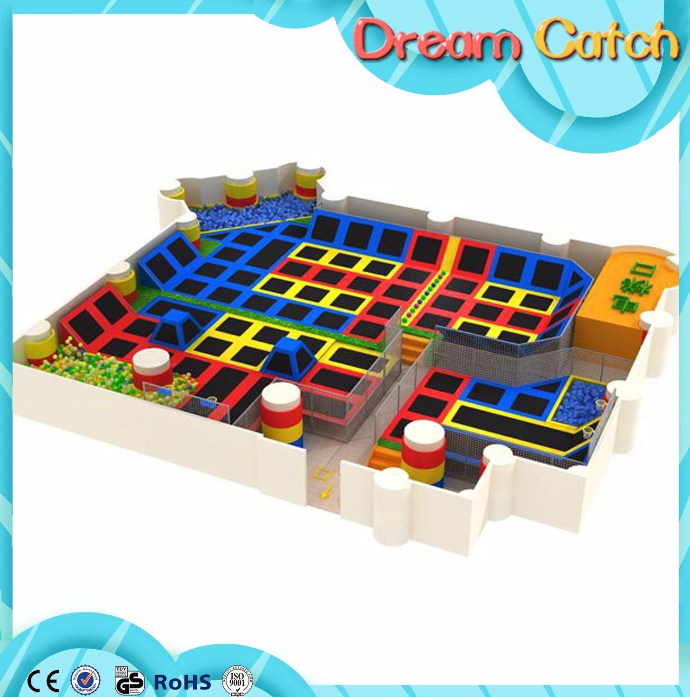 Hot Sale Indoor Amusement Sport 20FT Trampoline
