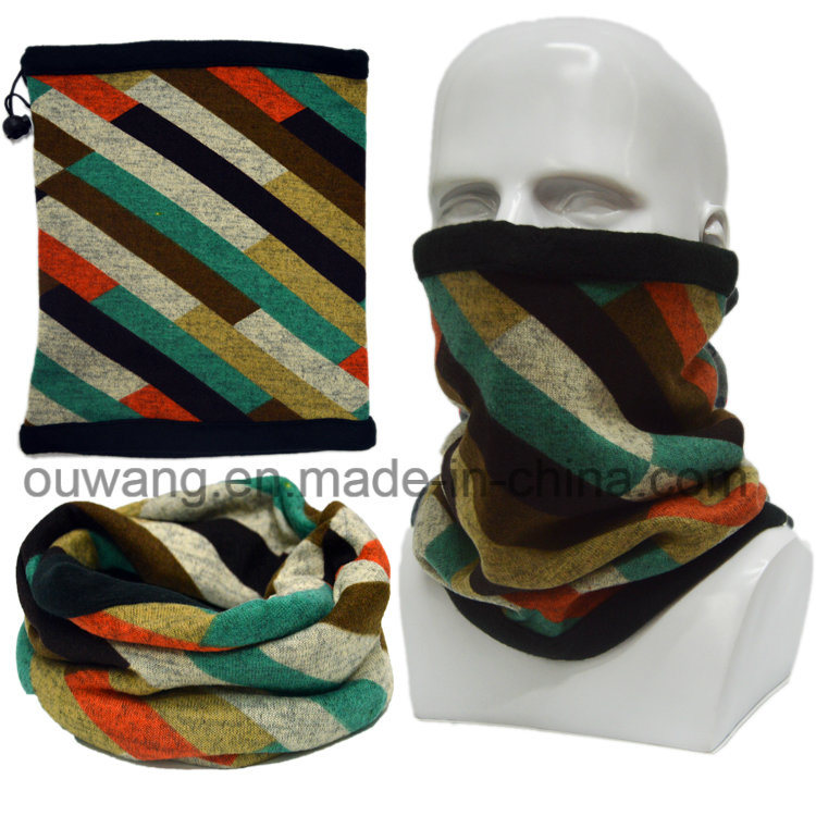 Hot Sell Mulitifunctional Custom Print Colorful Neck Warmer for Ski