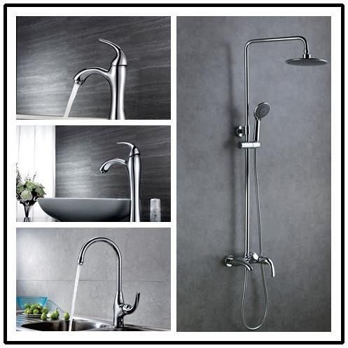 Single Lever Countertop Basin Faucet