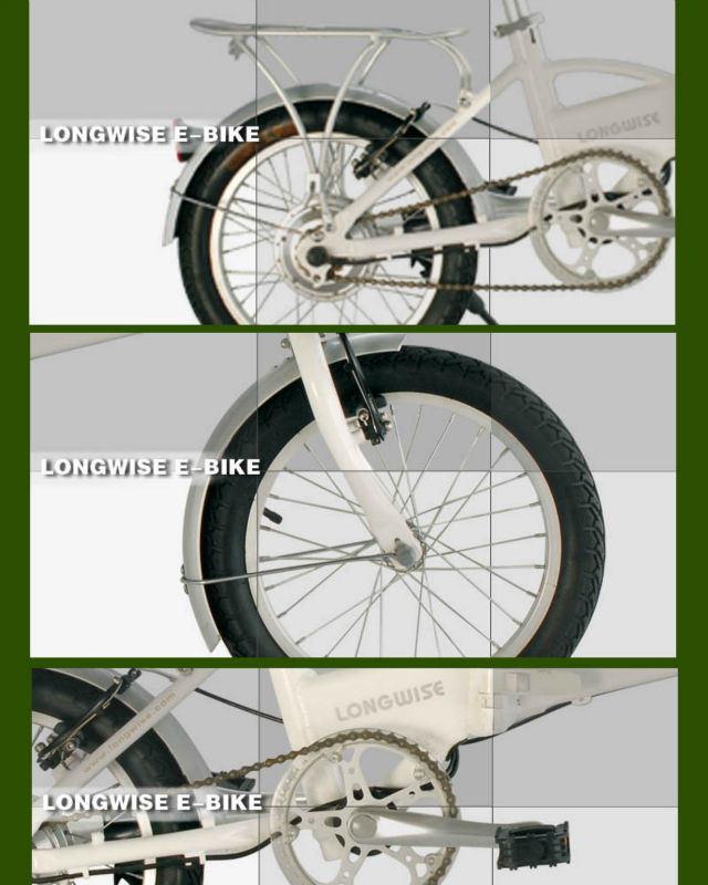 """16"""" En15194 Foldable Ebike (LWEB-T1601C)"""
