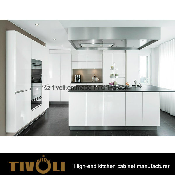 Fancy Kitchen Ides Designer High Gloss Kitchen Cabinets Tivo-0134h
