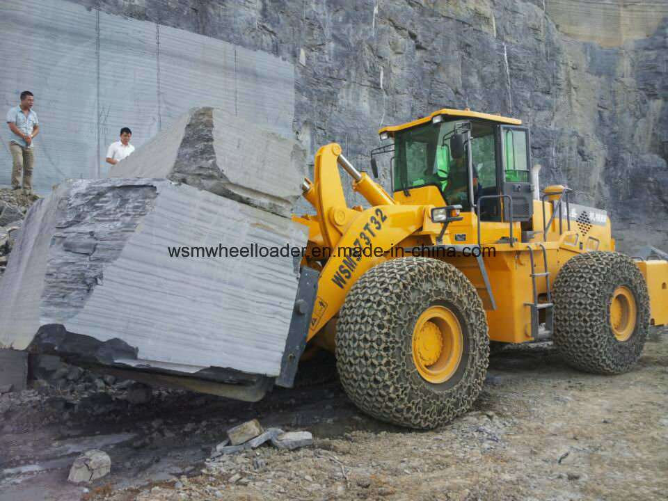 32 Ton Wheel Loader for Mining with Ce Certification