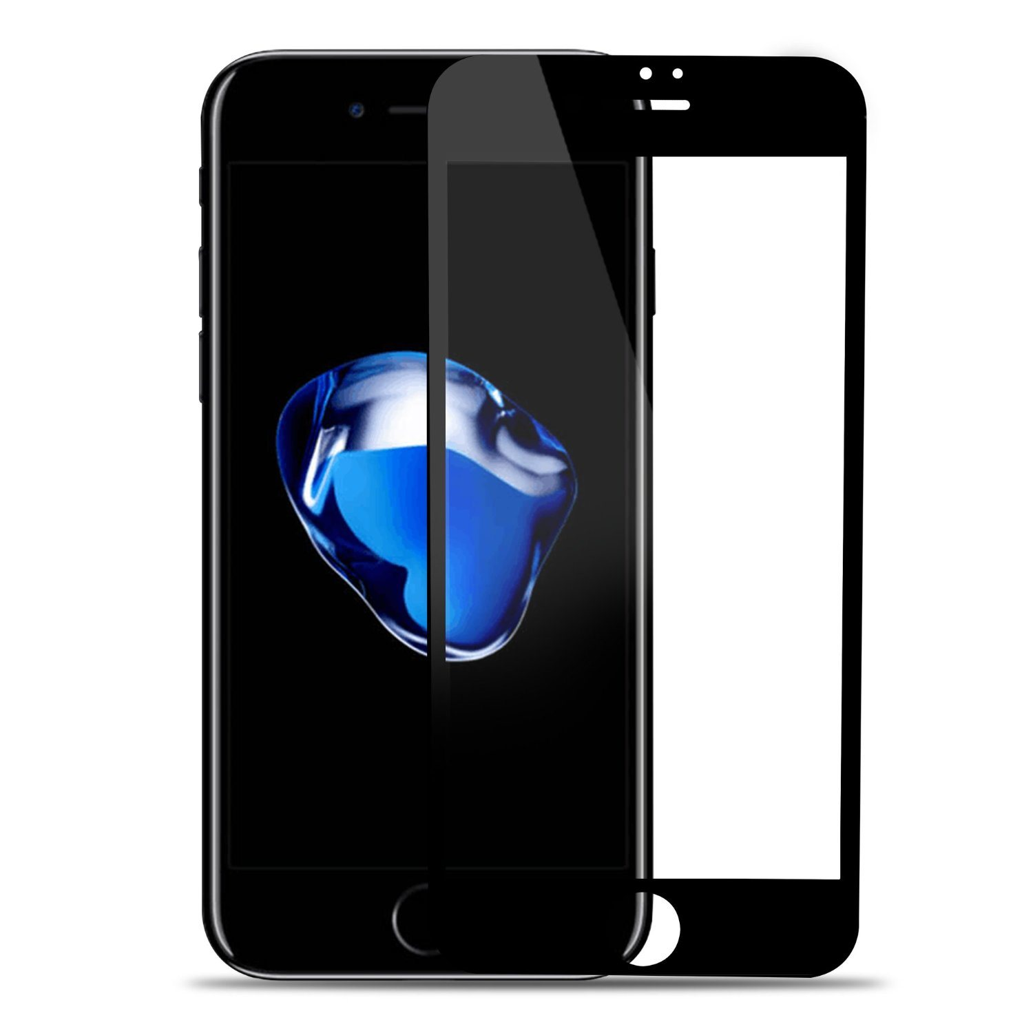 Carbon Fiber 3D Touch Soft Edge Screen Protector for iPhone 7