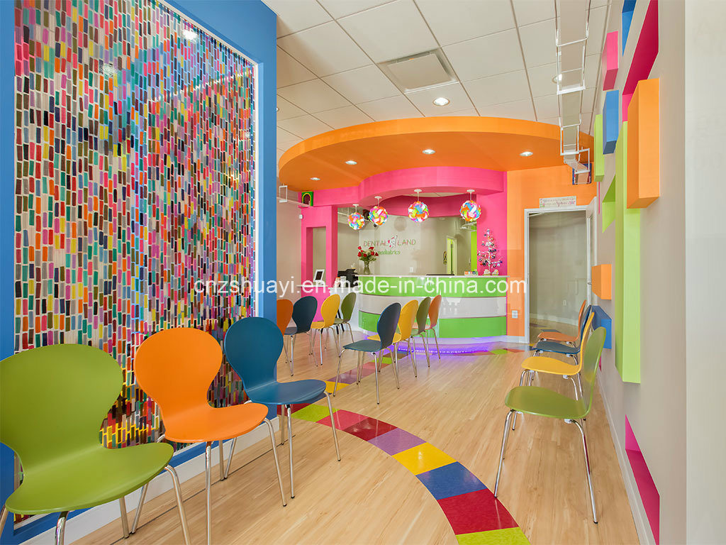 Colorful PETG Resin Panel Partition Decoration
