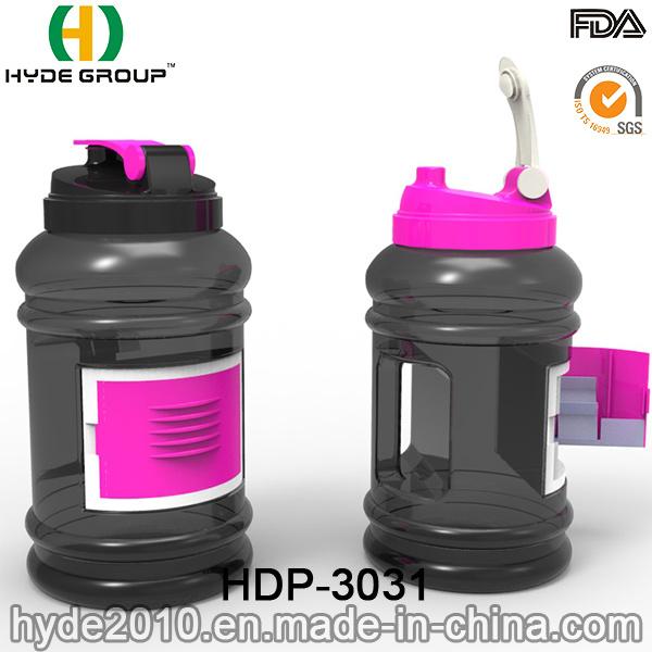 2017 Best Quality 2.2L Plastic PETG Water Bottle, BPA Free Portable Plastic 2.2L Sport Gym Water Bottle (HDP-3031)