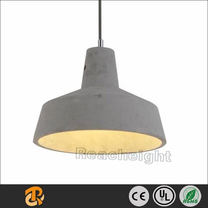 New Design Modern Cement Pendant Light Ceiling Concrete Lamp