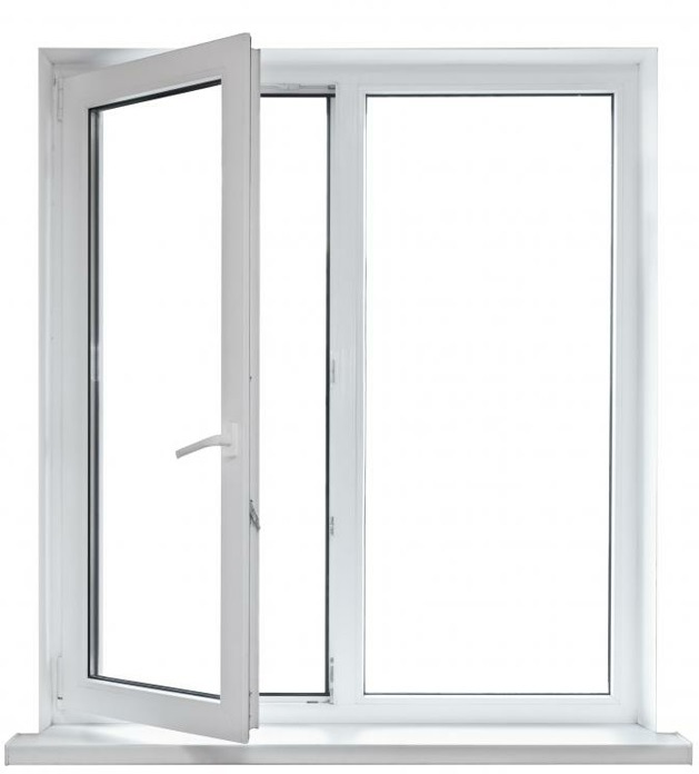 Popular Powder Coating White Casement Aluminium Window