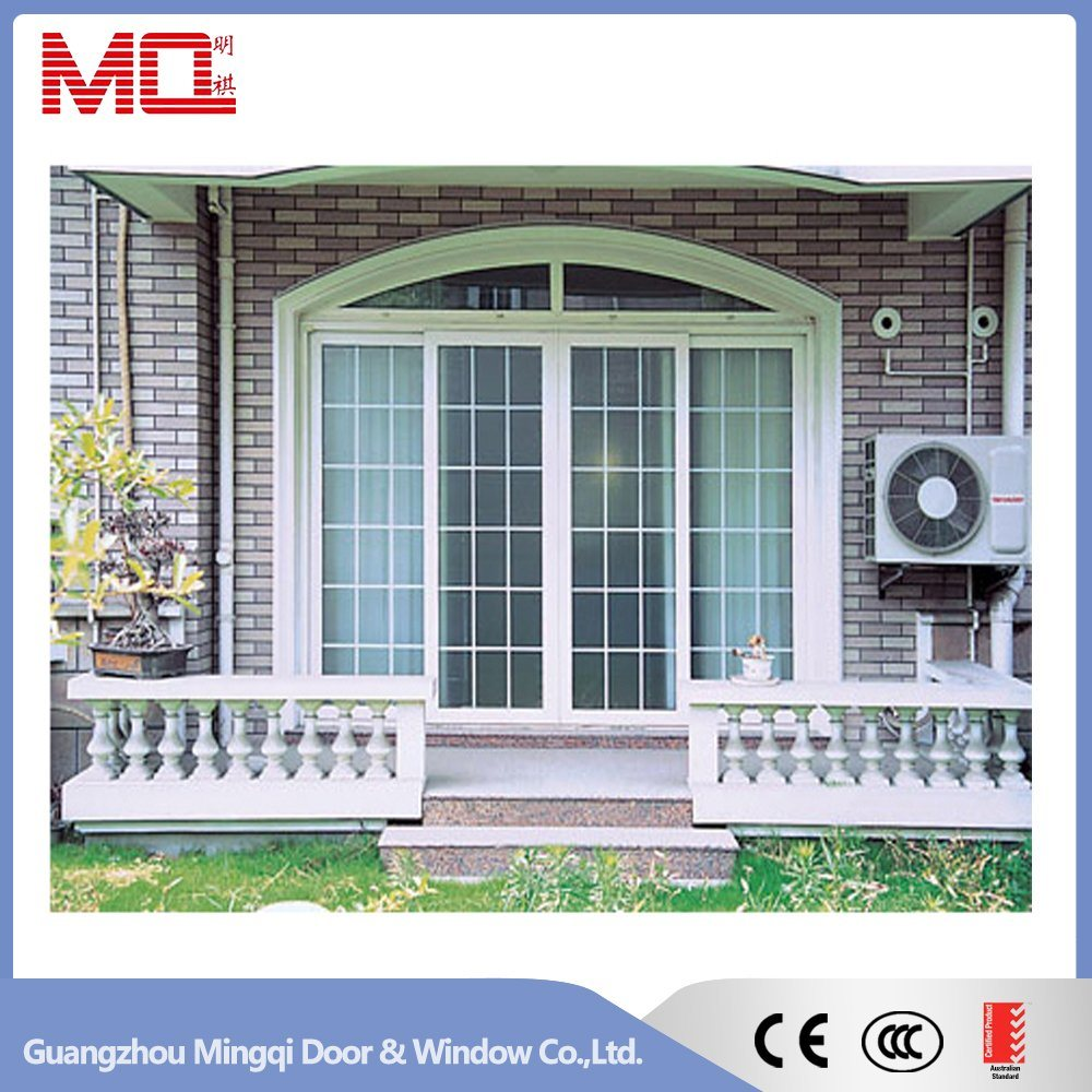 Balcony Door PVC Sliding Glass Door Mqd-3