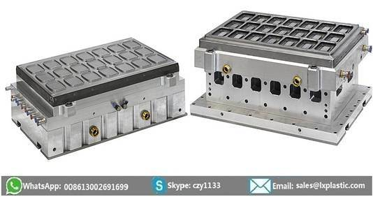 2in1 Thermofomring Machinery with Steel-Rule-Knife