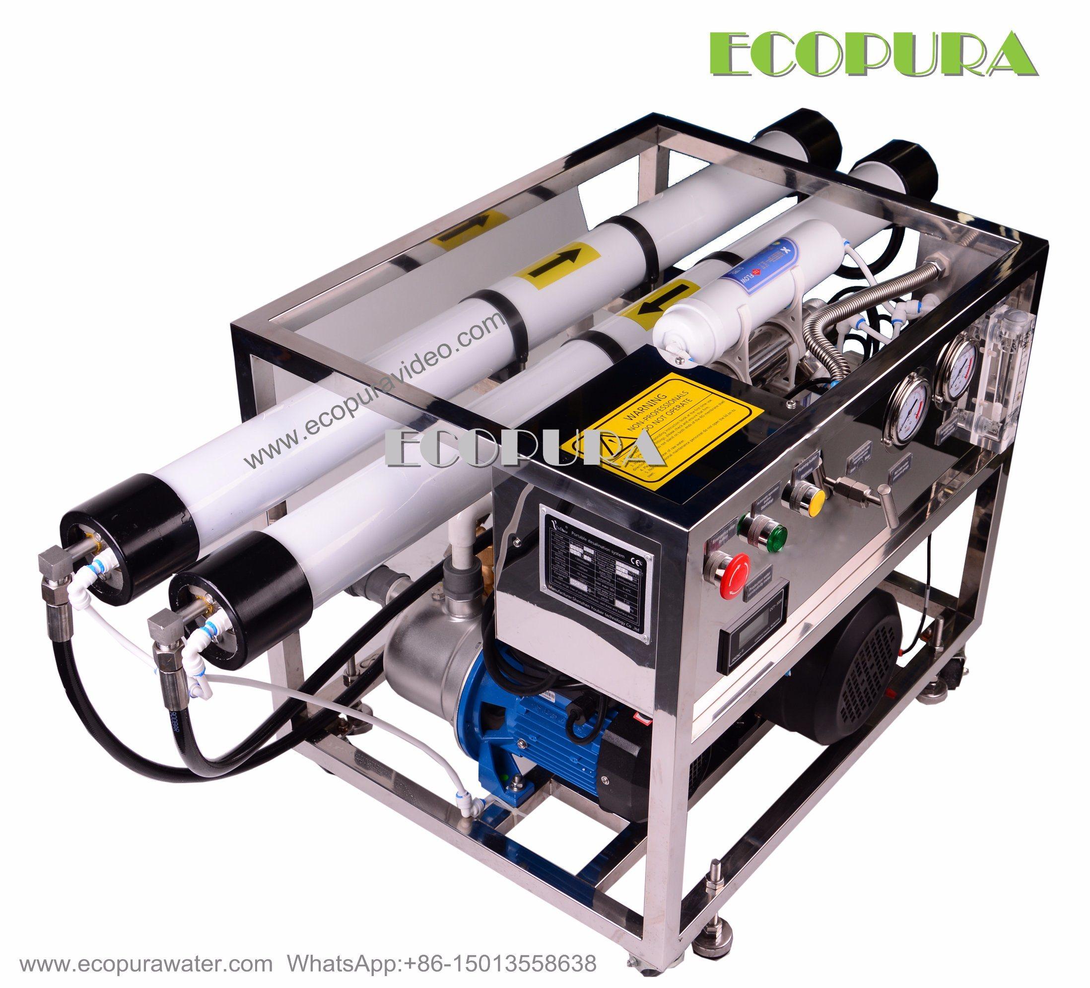 China Sea Water Desalination Plant Sea Water Purification System