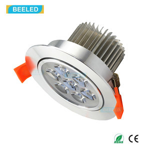 Ce RoHS 7W Specular Silver Dimmable Cool White LED Downlight