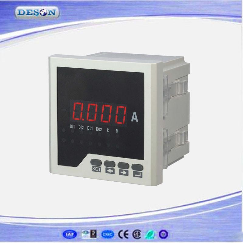Panel Mounted Single Phase Digital AC/DC Ammeter