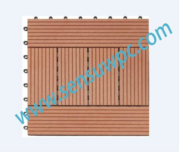 Sensu DIY Outdoor Wood Plastic Composite Decking WPC False Floor
