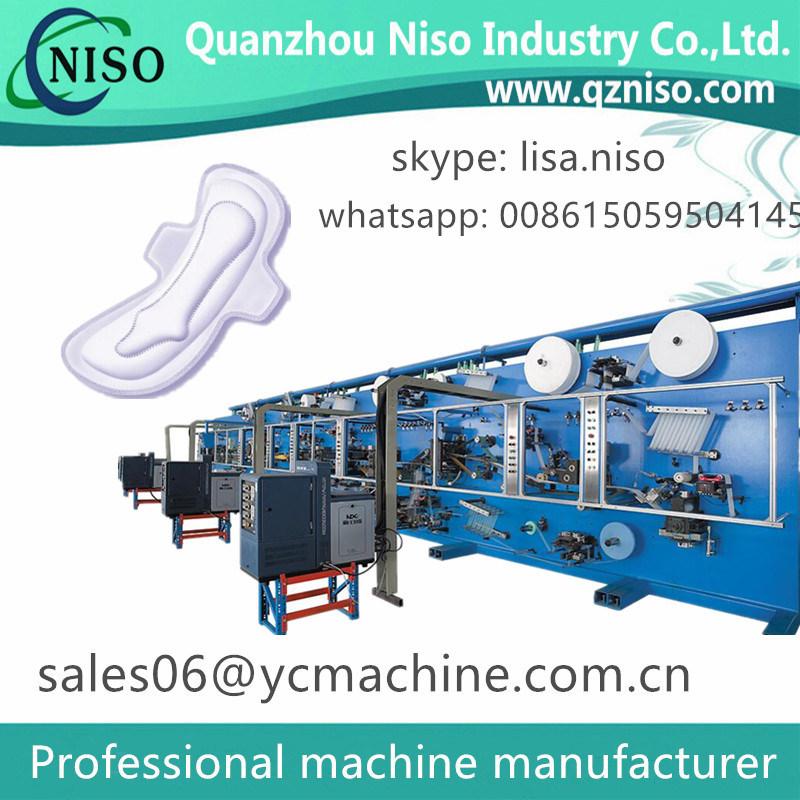 500PCS/Min Sanitary Napkins Machine for U by Kotex Cleanwear Ultra Thin Women Napkins