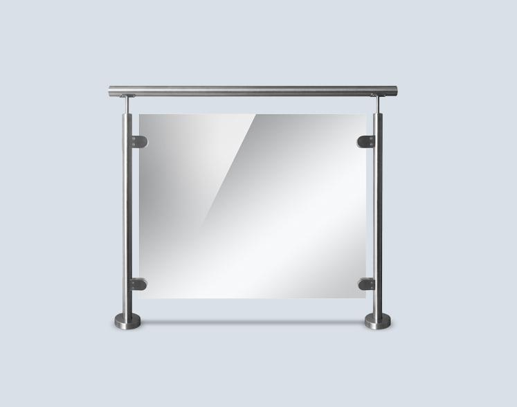 Interior/Exterior Temepred Glass Balustrade/Fence/Railing