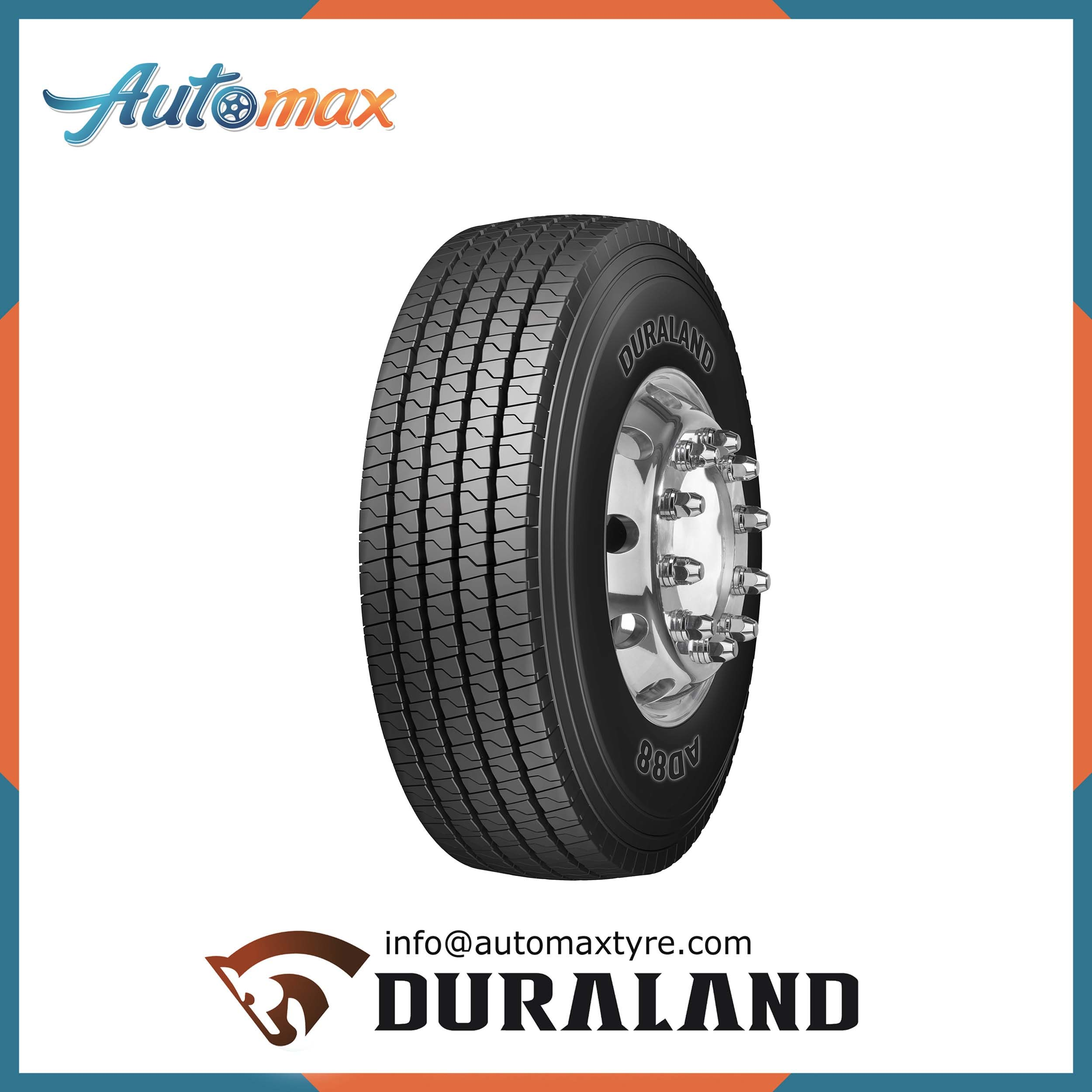 Automax New Designed Radial Truck Tyre (295/80R22.5, 315/80R22.5)