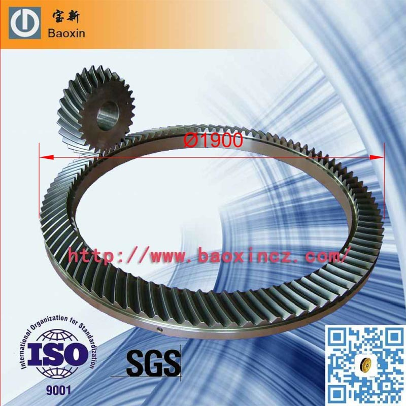 Dnv Rotary Drilling Rig Spiral Bevel Gears