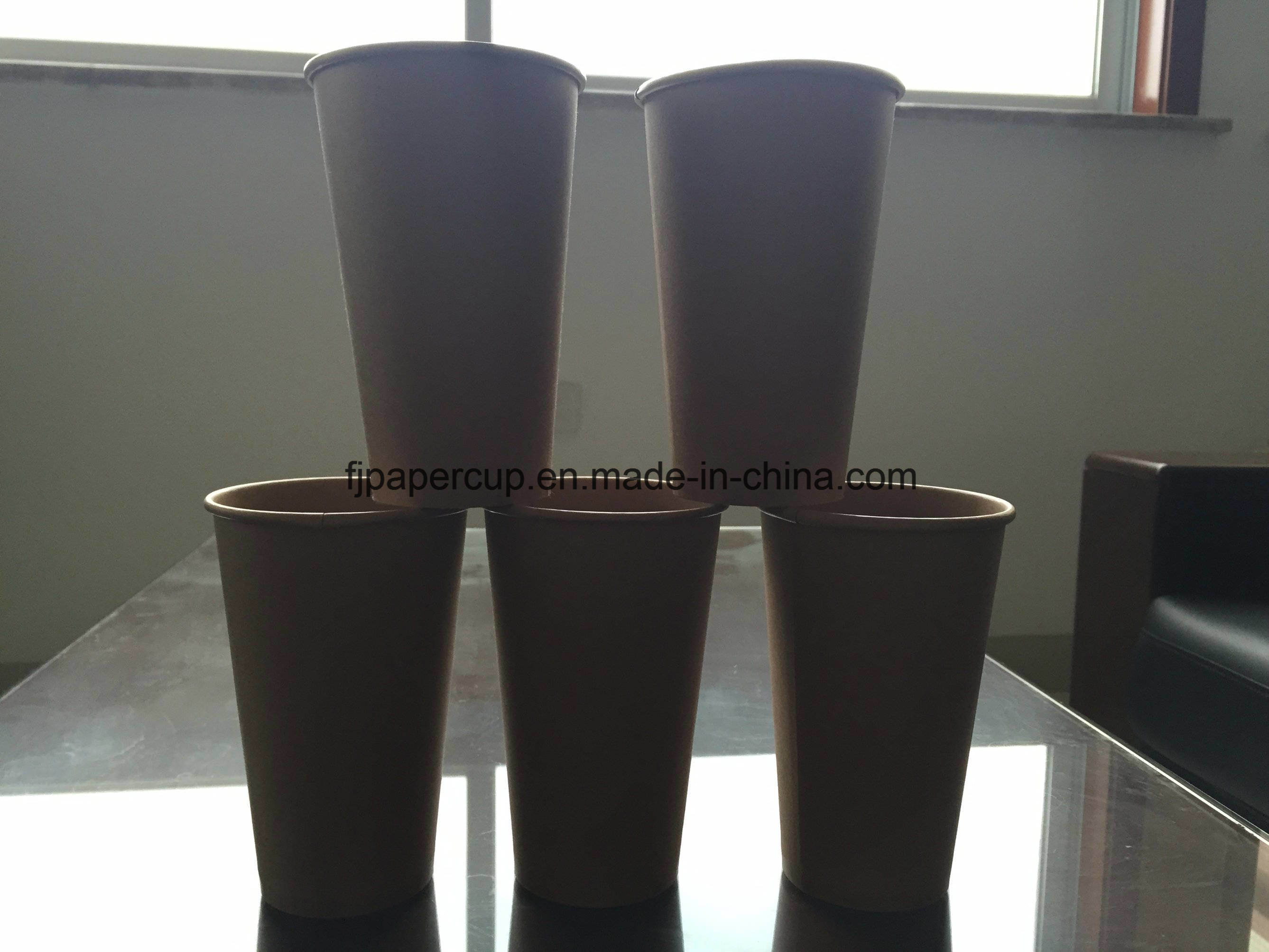 Kraft Coffee Paper Cup with Food Grade Material