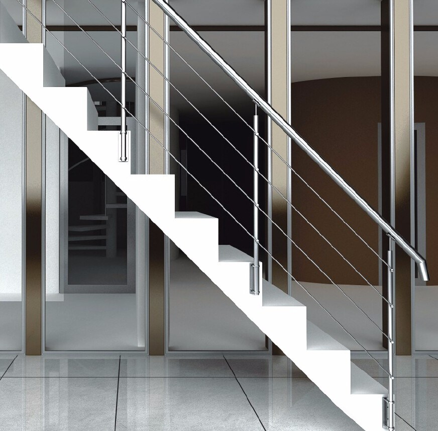 Stainless Steel Balustrade Handrails for Stairs or Ground