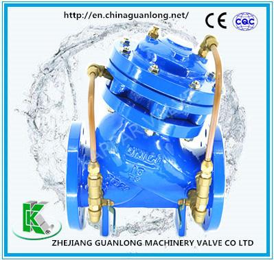Globe Pattern Multi Purpose Water Pump Control Valve (GJ745X)
