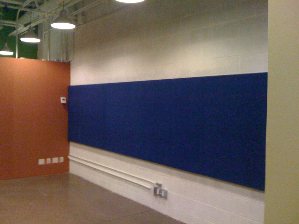 E0-Class Environmental Polyester Fiber Acoustic Wall Panel