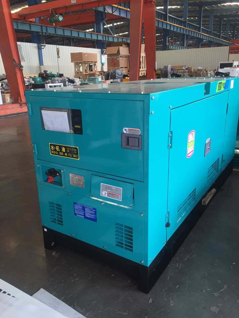 Silent 30kVA 50kw 80kVA 500kw 1000kVA New Soundproof Diesel Generator