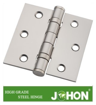 "Shower Hardware Steel or Iron Door Hinge (3.5""X3"" Square Corner hinge joint)"