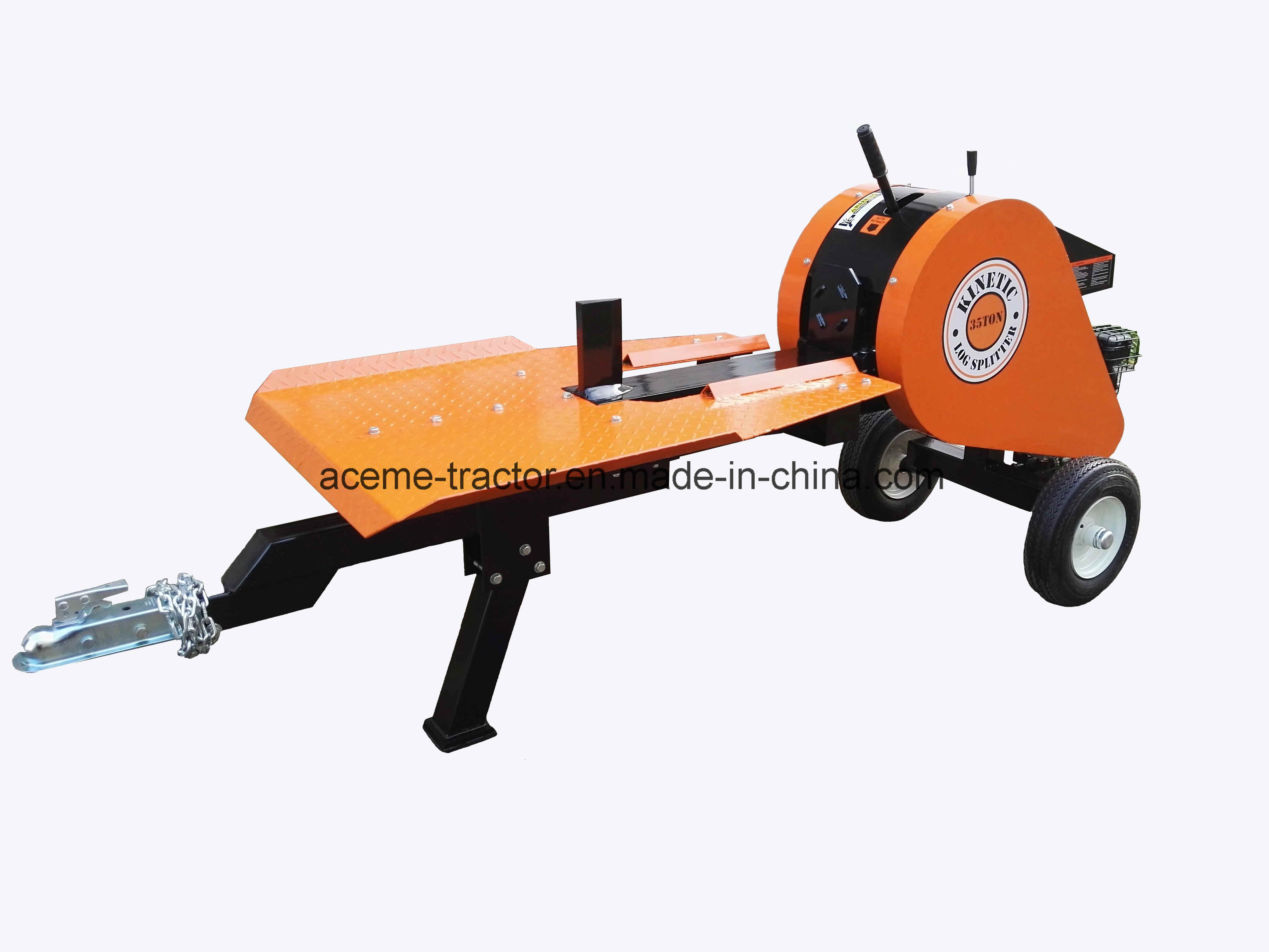 35ton Petrol Kinetic Log Splitter with Ce