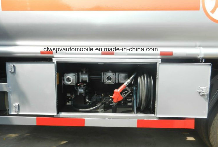 3 Tons 4 Tons Carbon Steel 5 Tons Fuel Tanker Truck for Sale