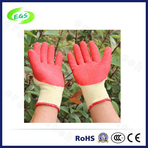 10g Polyester/ Nylon Liner Nitrile Half Coated Gardening Hand Protection Work Glove