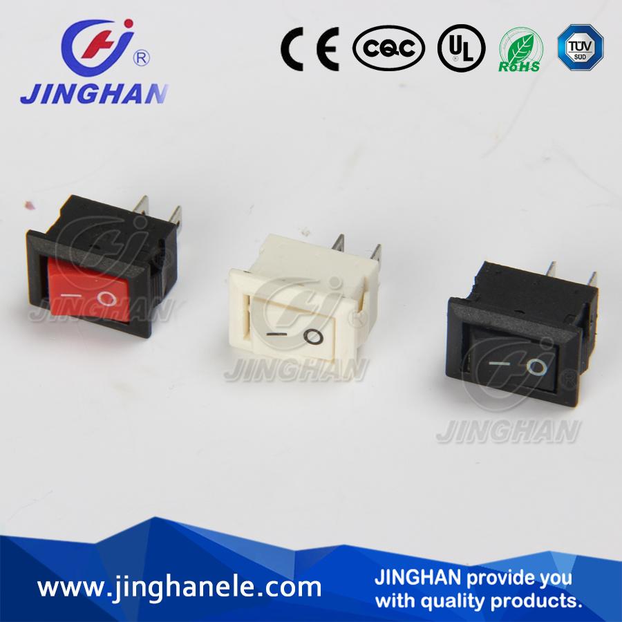 Jinghan Kcd1-116A Spst Rocker Switch/Electric Switch 2 Pins