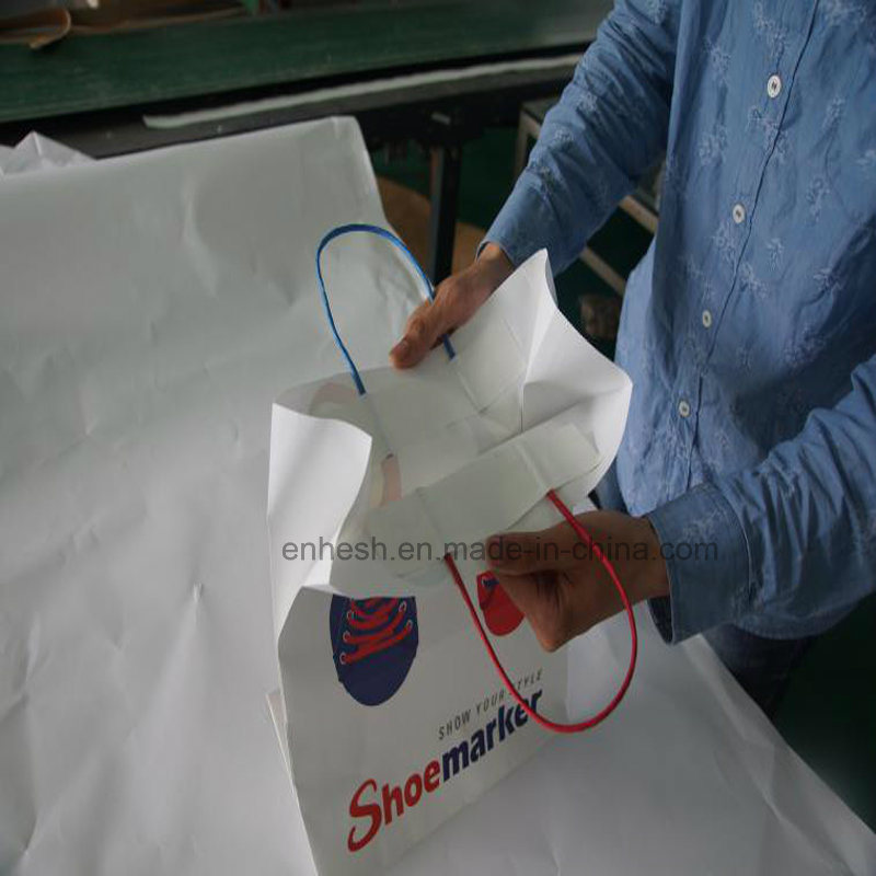 Foldable Custom Design Shopping Paper Bag with Factory Price