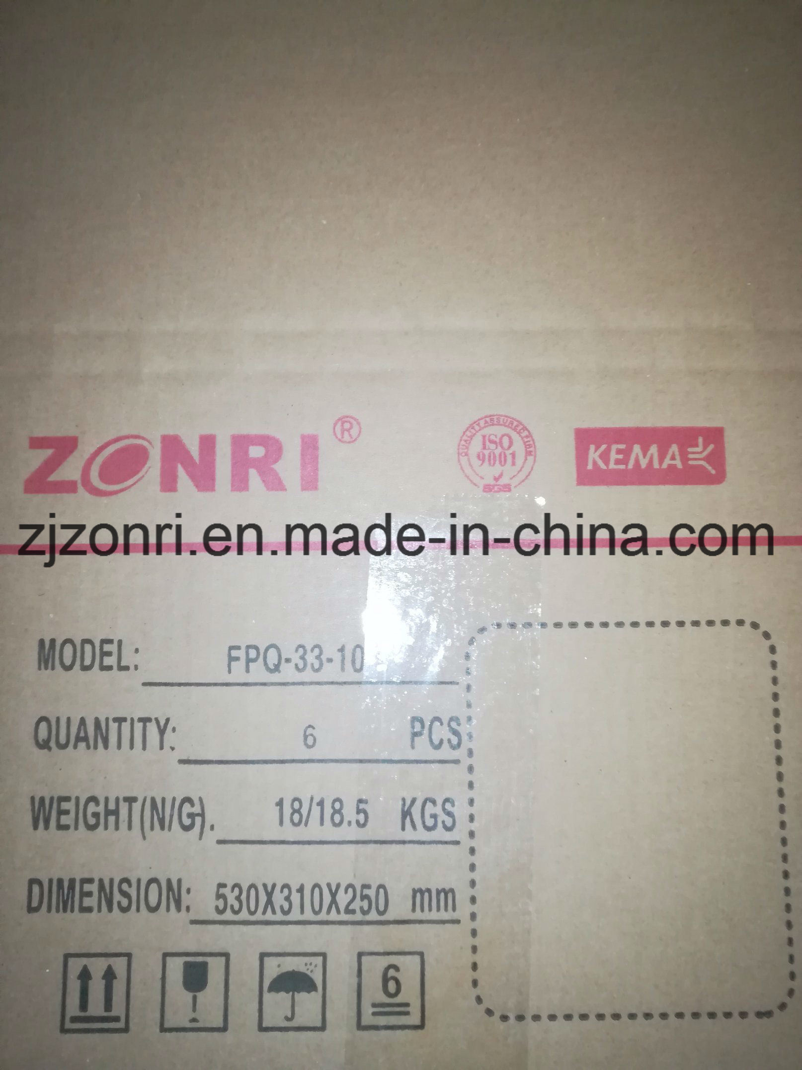 Export Hv 11kv-33kv Pin Type Composite Insulator for Transmission