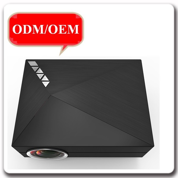 60A 1000 Lumens Video USB VGA SD Home Video Theater Projector