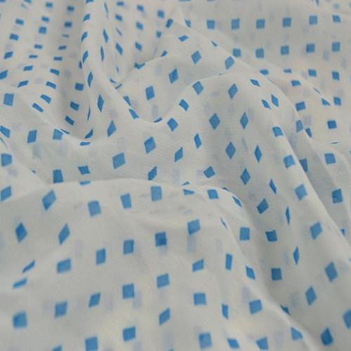 Polyester Silk Chiffon for Lady Scarf and Arab Headscarf
