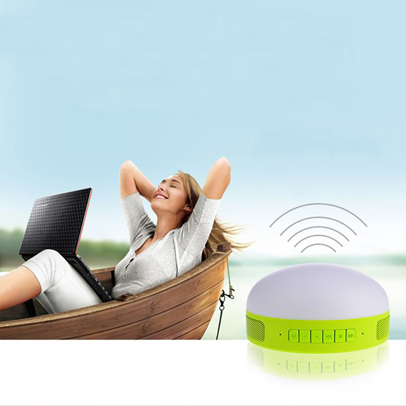 Newest Mini Bluetooth Speaker with Selfile Remote Controller Function