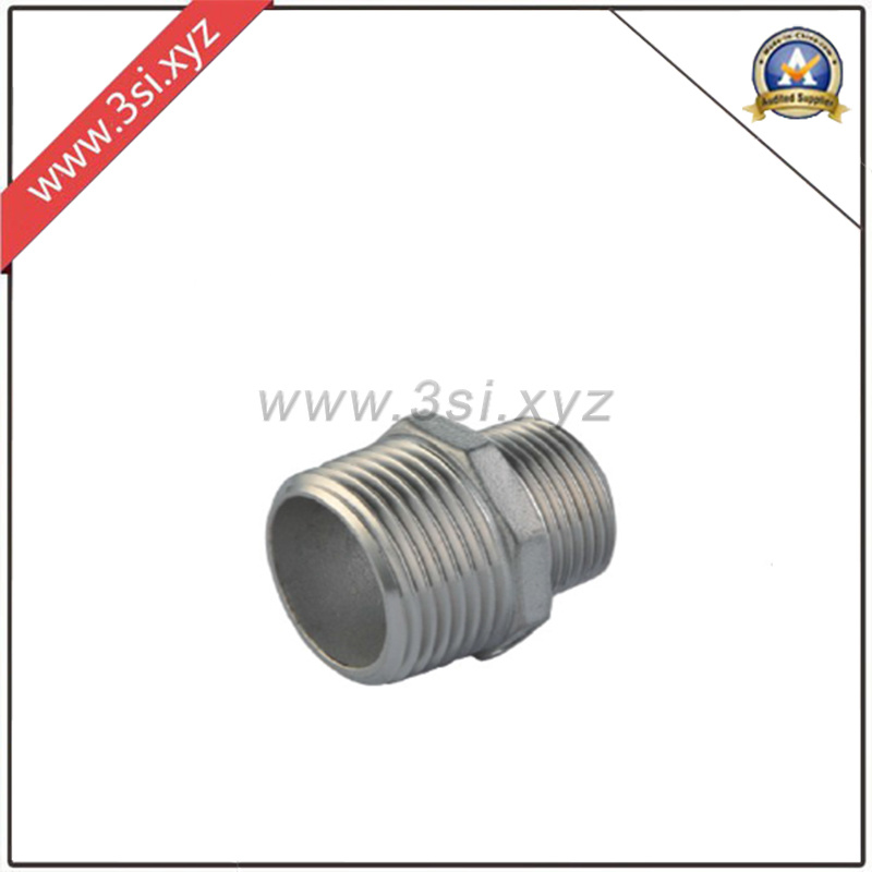 Stainless Steel Reduced Hexagon Pipe Nipple (YZF-F352)
