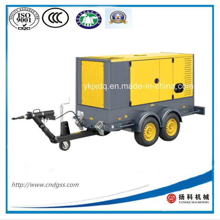 Top Selling! 30kw/37.5kVA Trailer Mobile Diesel Generator