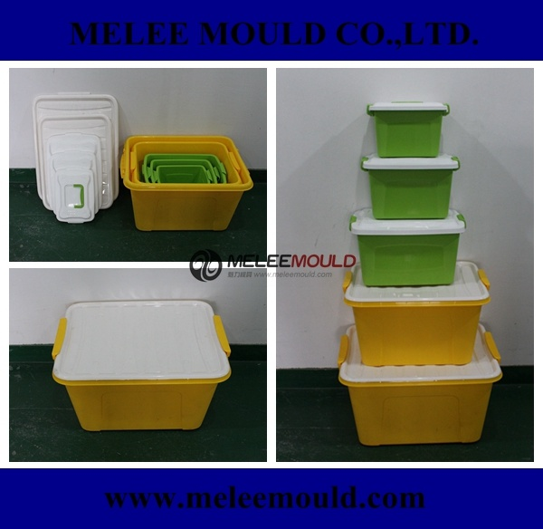Plastic Stackable Container Commodity Mould