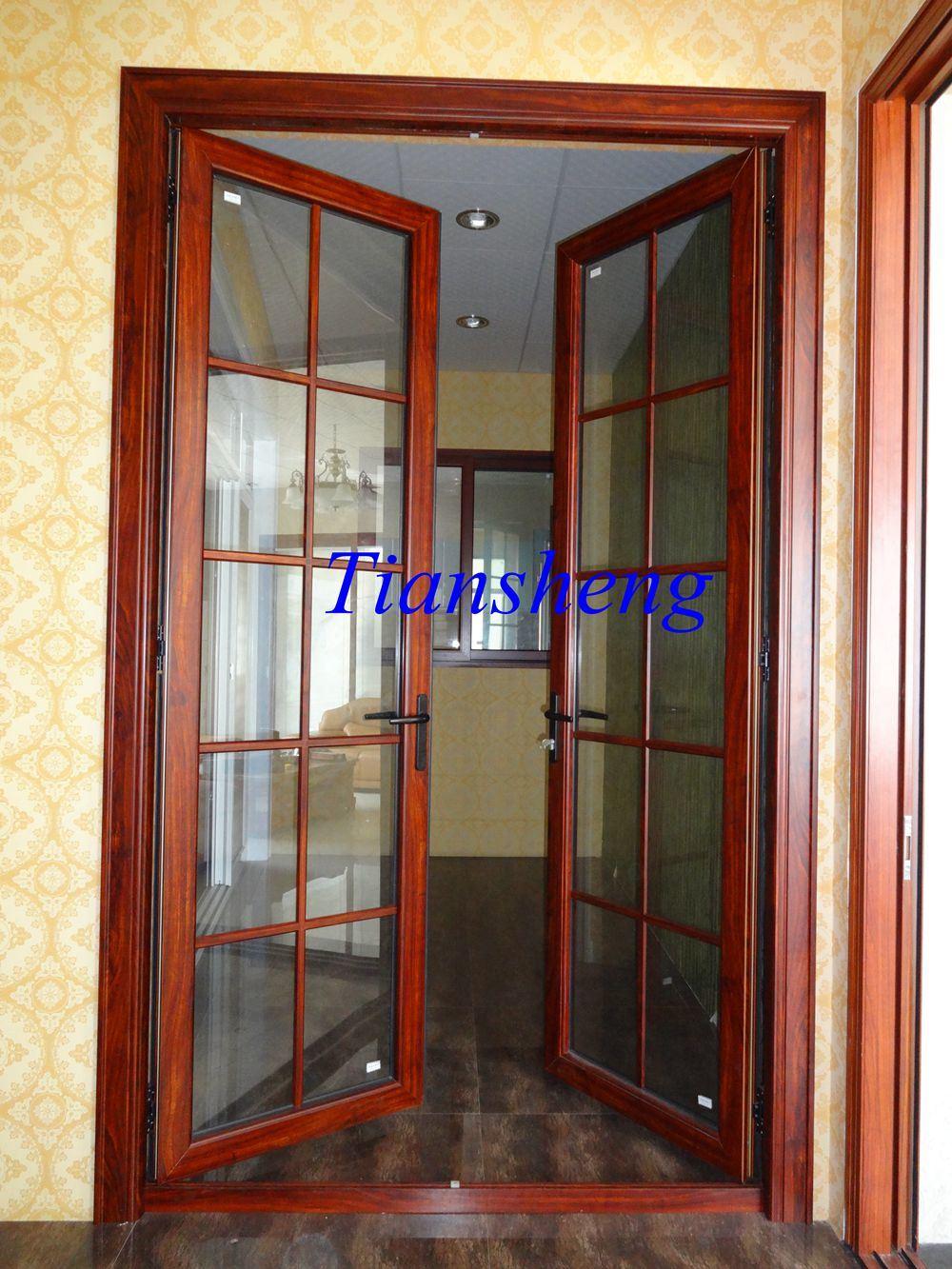 Aluminum Door with Hinge Design at Competitive Price