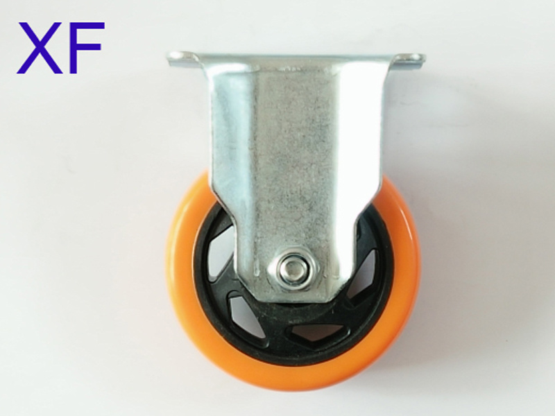 35*75mm PU Caster Wheel for Cart/Furniture
