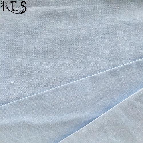 Cotton Spandex Woven Yarn Dyed Fabric for Shirts/Dress Rlsc40-14