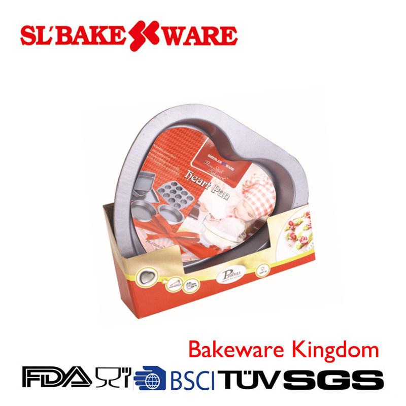 Heart Pan W/Box Carbon Steel Nonstick Bakeware (SL BAKEWARE)