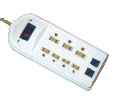 Germany Extension Socket with Surge Protection (RPG-GBKDS06TNC)