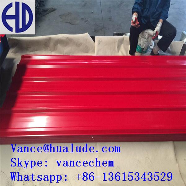 Prepainted Galvanized Steel Colored Zinc Corrugated Steel Roofing Sheet PPGI