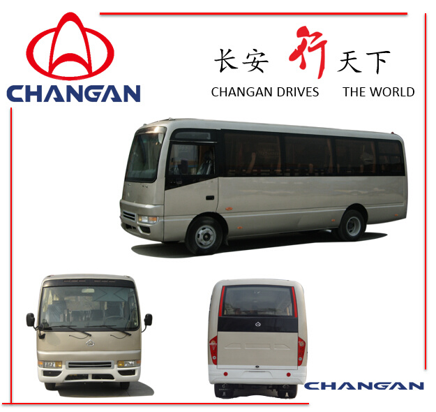 18-28 Seats MIDI Bus Mini Bus Coaster Bus Sc6728bl Changan Brand
