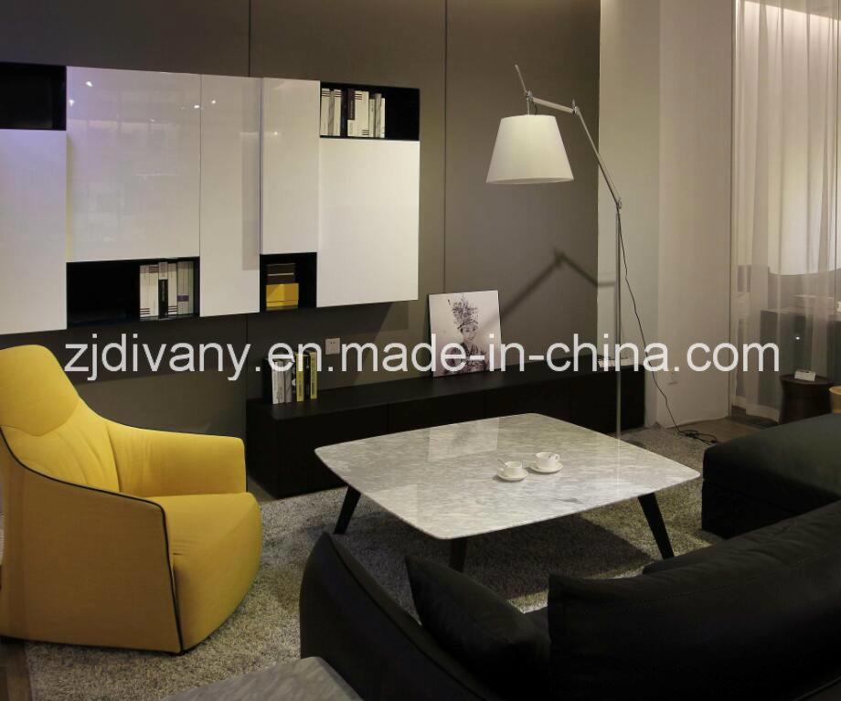 Italian Modern Style Living Room TV Set Cabinet (SM-TV07)